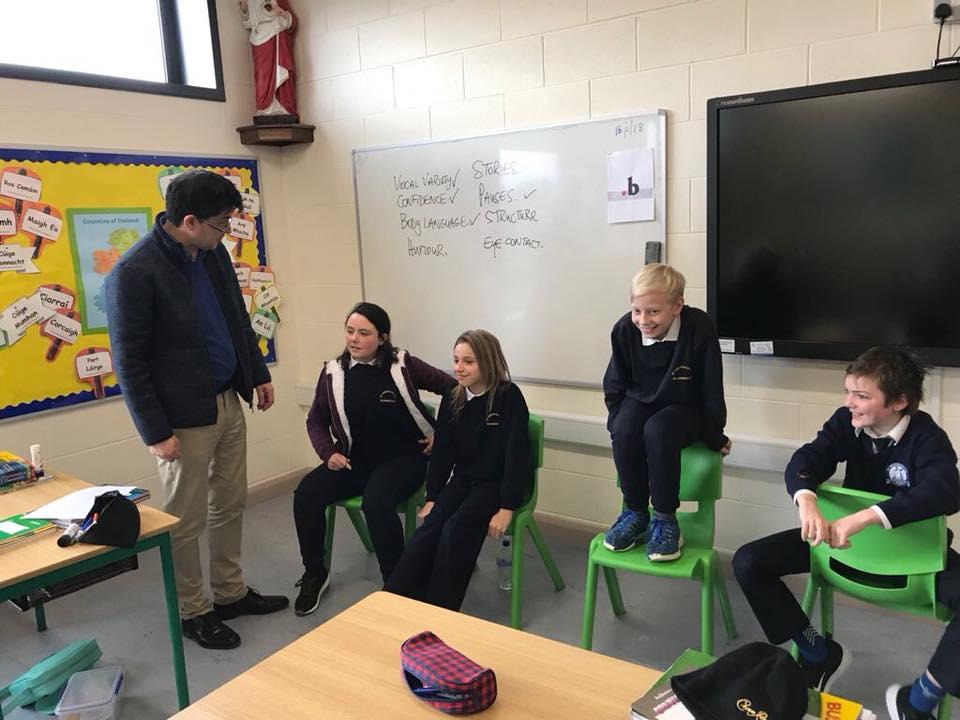 School workshop on presentation skills